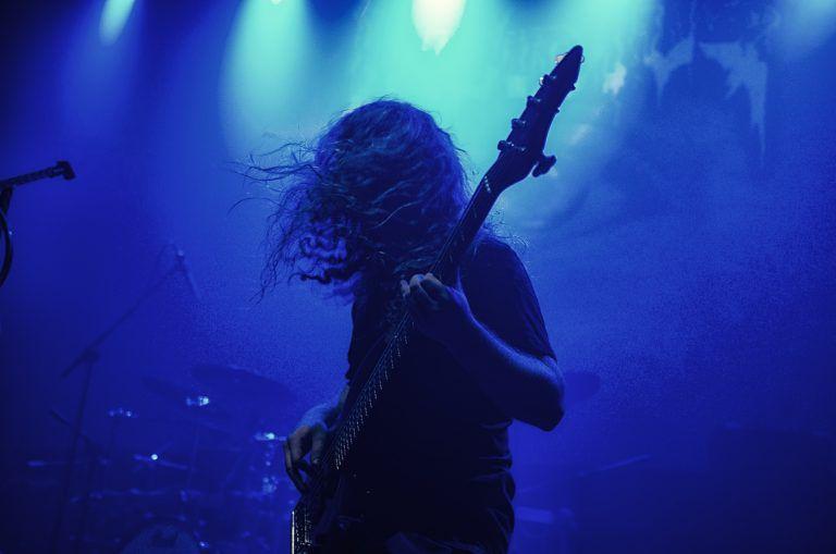 "Death metal concert in Łódź ""Magnetofon"" 5.09.2018"