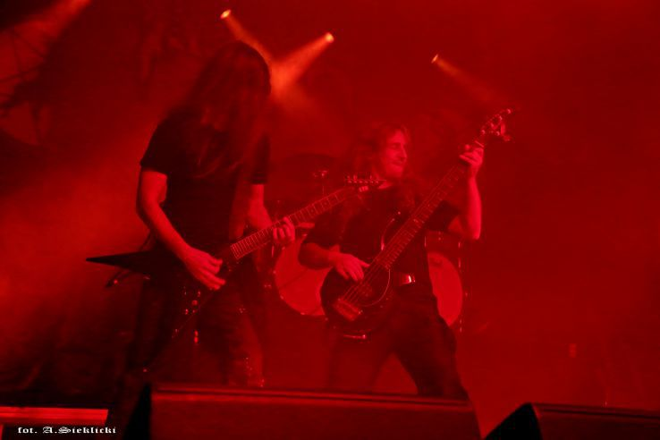 "Death metal concert in Wrocław ""A2"" 7.09.2018"