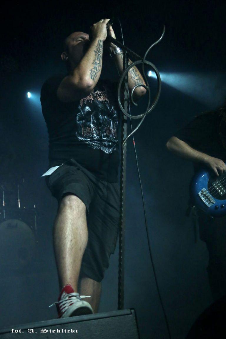 """Death metal concert in Katowice """"MegaClub"""" 8.09.2018"""