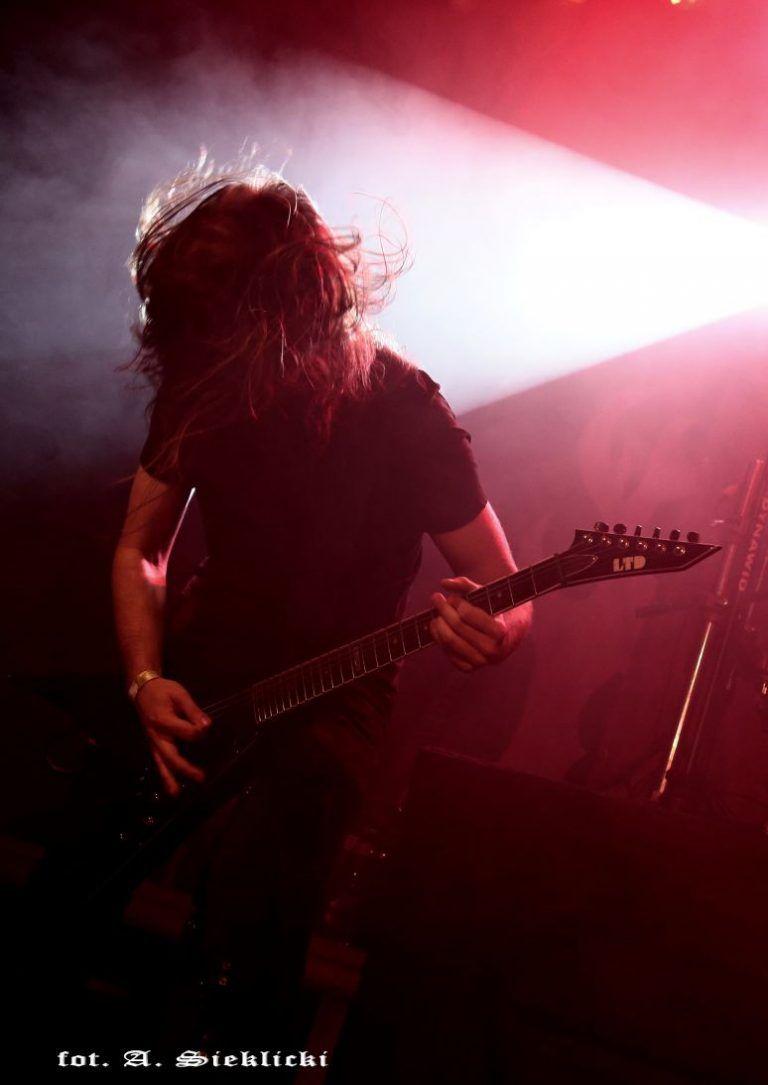 "Death metal concert in Kraków ""Kwadrat"" 9.09.2018"