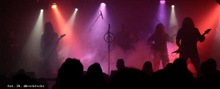 Death metal concert